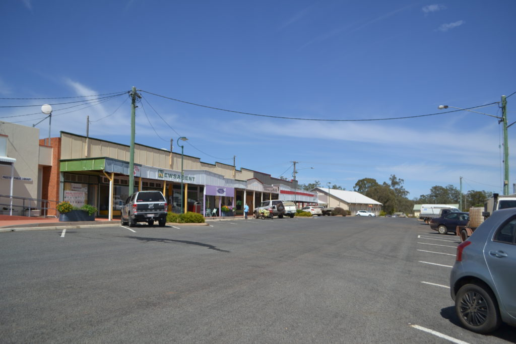 Blake Street Proston, saving small town Australia.